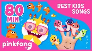 If Sharks Are Happy and more | +Compilation | Baby Shark | Pinkfong Songs for Children width=