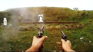 getlinkyoutube.com-Paper cartridges 1860 Colt Army,  1858 Remington