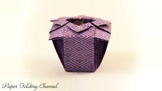 getlinkyoutube.com-Origami Vase
