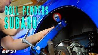getlinkyoutube.com-Rolling Subaru Fenders SmurfinWRX