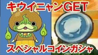 getlinkyoutube.com-妖怪ウォッチぷにぷに!キウイニャンGET スペシャルコインガシャ