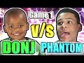 5 YEAR OLD SON DONJ vs FAT DOMINICAN PHANTOMSLICE • ANGRY 5 YEAR OLD AND FAT PERSON RAGE 😂 Part 1