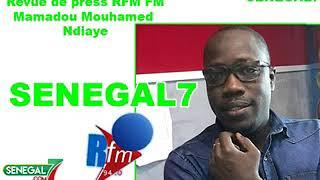 Revue de presse RFM avec Mamadou Mouhamed NdiayeRevue de presse RFM avec Mamadou Mouhamed NdiayeRevue de presse RFM avec Mamadou Mouhamed Ndiaye