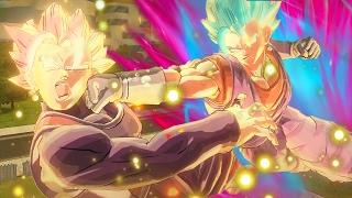 getlinkyoutube.com-ROSE VEGITO VS VEGITO BLUE KAIOKEN! Dragon Ball Xenoverse 2 Rose Pack DLC MOD Gameplay!