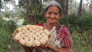 Tasty and Healthy Rava Laddu by My Grandma    Myna Street Food