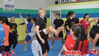 Very Fun Taekwondo Agility Training (part 2)