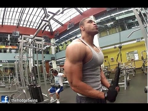 Chest Shoulders Traps Triceps Workout