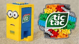 getlinkyoutube.com-LEGO Minions Tic Tac Candy Machine