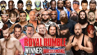 getlinkyoutube.com-WWE Royal Rumble 2016 - Royal Rumble Match - WWE 2K16
