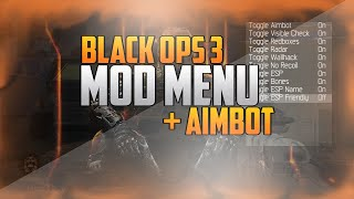 getlinkyoutube.com-Black Ops 3 - MOD MENU + AIMBOT | NON HOST |(BO3 MODS) FREE