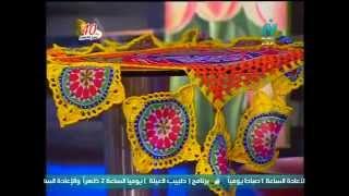 مصممة الكروشيه : دعاء سعد ضيفة في برنامج دانتيل