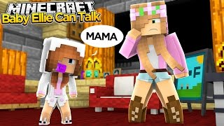 getlinkyoutube.com-Minecraft - Little Kelly Adventures : BABY ELLIE CAN TALK!
