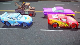 Grand Theft Auto IV - MCQUEEN, Ramone, Tow Mater and Dinoco