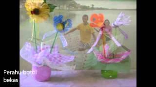 getlinkyoutube.com-Ide kreatif memanfaatkan botol plastik bekas