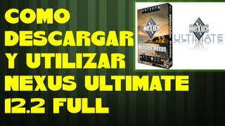 "getlinkyoutube.com-COMO DESCARGAR Y UTILIZAR NEXUS ULTIMATE 12.2 Full ""barra de personalización"""