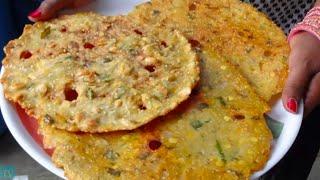 getlinkyoutube.com-Sarva Pindi: Telangana Special Snack Sarvapindi Recipe (Rice Flour Pancack) by Attamma TV