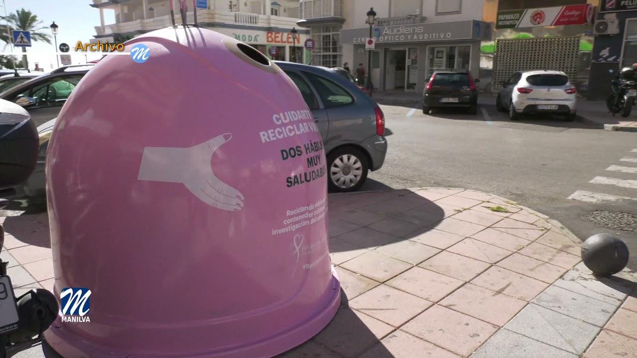 Manilva se une a la campaña Recicla Vidrio por Ellas