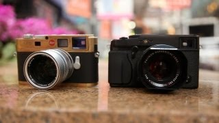 getlinkyoutube.com-Fujifilm X-Pro1 vs Leica M9 (M8) - On The Streets