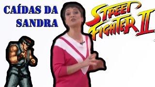 getlinkyoutube.com-Sandra Annenberg cai na gravação do programa Versao Street Fighter II