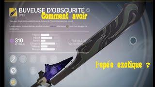getlinkyoutube.com-[Fr-Destiny] Comment avoir l'épée exotique ?