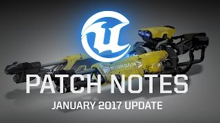 Unreal Tournament - Patch notes 2017 január