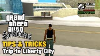 getlinkyoutube.com-GTA San Andreas - Tips & Tricks - How to reach Liberty City