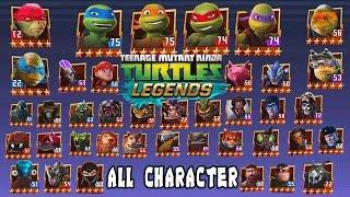 getlinkyoutube.com-Teenage Mutant Ninja Turtles: Legends: All Character