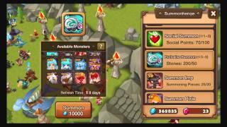 getlinkyoutube.com-Summoners War - Summoning Stones x200, Mystical Scrolls x12