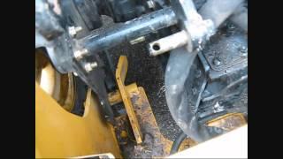 getlinkyoutube.com-John Deere 110 TLB backhoe removal process
