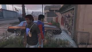 getlinkyoutube.com-GTA 5  Trap Life In Da Hood 1 [HD]