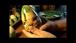 getlinkyoutube.com-Part 1 of 2 -Primitive Painting Eggs Tips, and SAVING YOU MONEY!!!