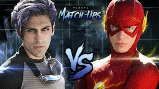 getlinkyoutube.com-THE FLASH vs QUICKSILVER - Minute Match-Ups: Episode 3