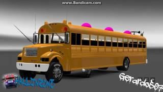 getlinkyoutube.com-Diablo Rojo Panamá || Euro Truck Simulator 2 || Mods