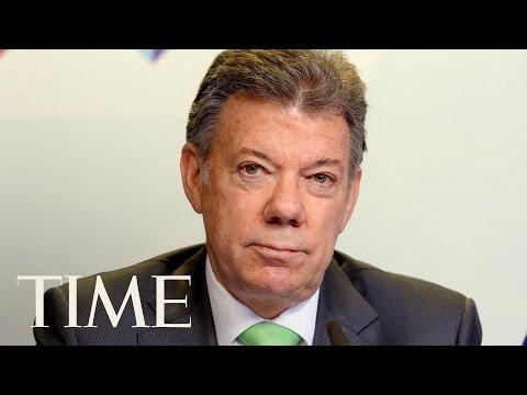 President Trump & Colombian President Santos Joint Presser | TIME