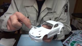 getlinkyoutube.com-なべさんのプラモデル製作記 グッドスマイル 初音ミク Z4 2014 SUPER GT Rd.2 Fuji 優勝車 (2)
