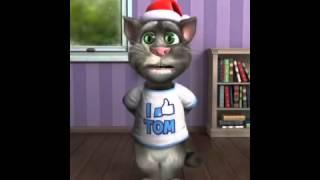 getlinkyoutube.com-Gato grosero feliz navidad