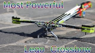 getlinkyoutube.com-WORLD'S DEADLIEST LEGO CROSSBOW EVER (working)