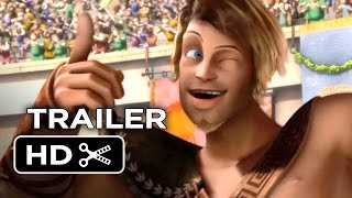 getlinkyoutube.com-Gladiators of Rome Official US Release Trailer (2014) - Animated Movie HD