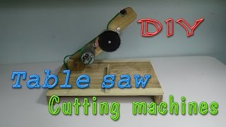 getlinkyoutube.com-How To Make TABLE SAW, Cutting Machine | Tool cut off saw 2 in 1