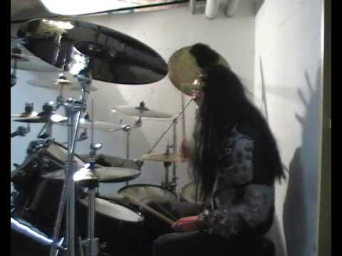 Lordi Drum Cover Where's the Dragon ?