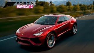 getlinkyoutube.com-Forza Horizon 2 - Lamborghini Urus