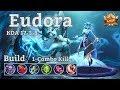 Mobile Legends: Eudora, New 1-Combo Kill Build! Insane Match!