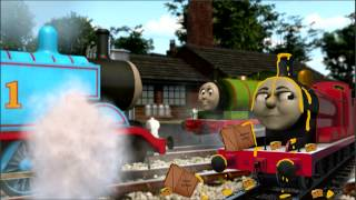 getlinkyoutube.com-Cheesed Off! - NEW Thomas & Friends magazine story - Narrated by SteamTeam - HD