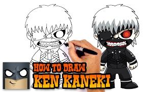 getlinkyoutube.com-How to Draw Ken Kaneki | Tokyo Ghoul
