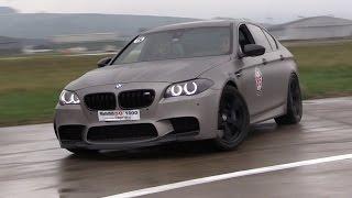 getlinkyoutube.com-840HP BMW M5 F10 w/ Straight Pipes - LOUD Revs, Drifting, Flames!