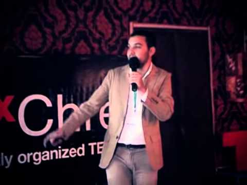 The Art of X Poster: Mehdi Dib at TEDxChrea