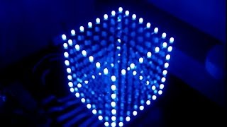 getlinkyoutube.com-Cubo de LED 8X8X8 - Passo a Passo