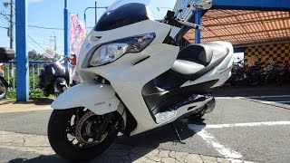 getlinkyoutube.com-SUZUKI SKYWAVE400 TypeS ABS (2009)