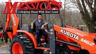 getlinkyoutube.com-*New* Kubota M62 Tractor \ Loader \ Backhoe review by Messick's