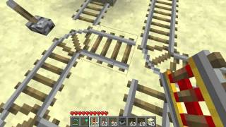 getlinkyoutube.com-#Minecraft 1.11 - Multi-directional train station [Tutorial]